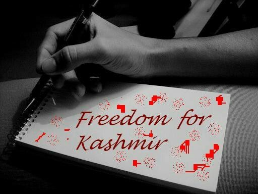 Everyone has right, right of freedom, then people of kasmir r not having it, and why world see it...  If its freedom they want, they shall deserve it..
