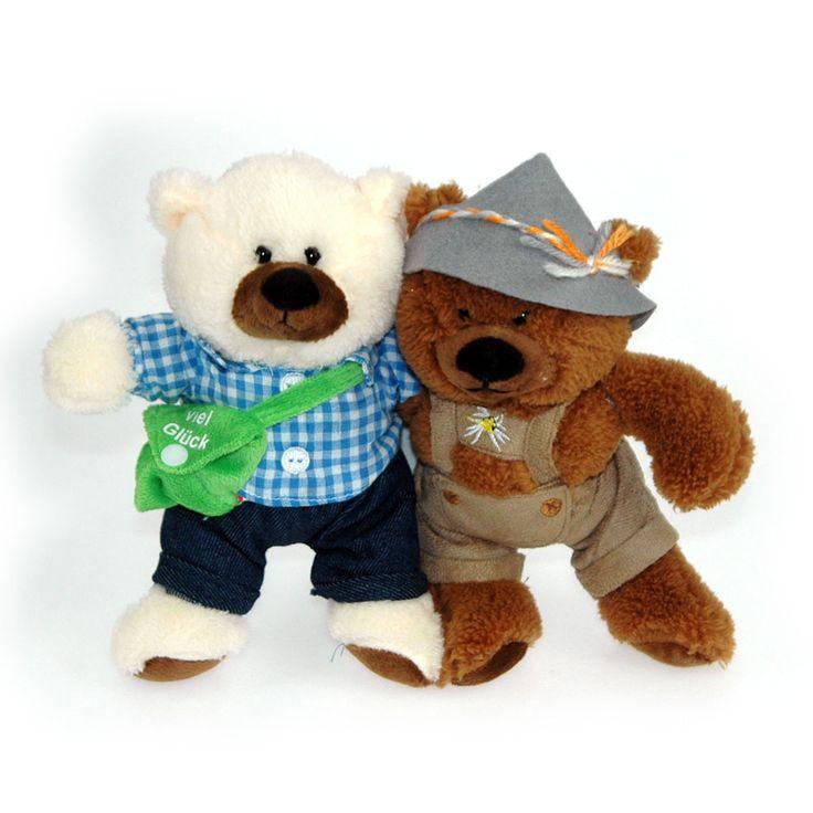 Teddy bear / Soft bear #Älplerhut #Bayernpur