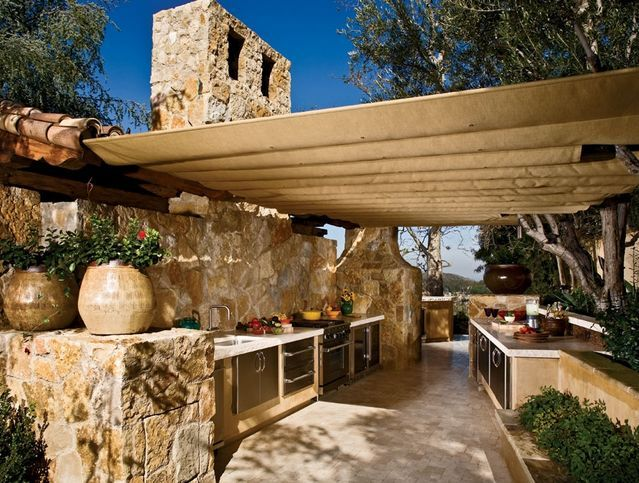 Outdoor cooking areas outdoor cooking area outdoor for Outside cooking area