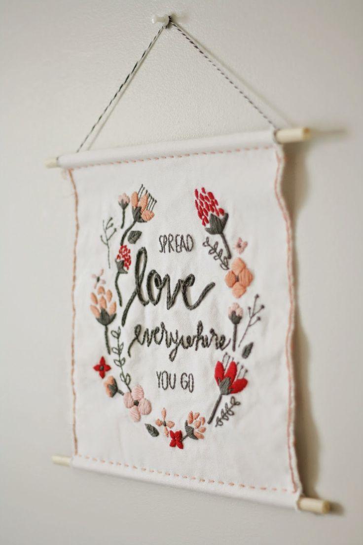 Valentine's Embroidery Inspiration