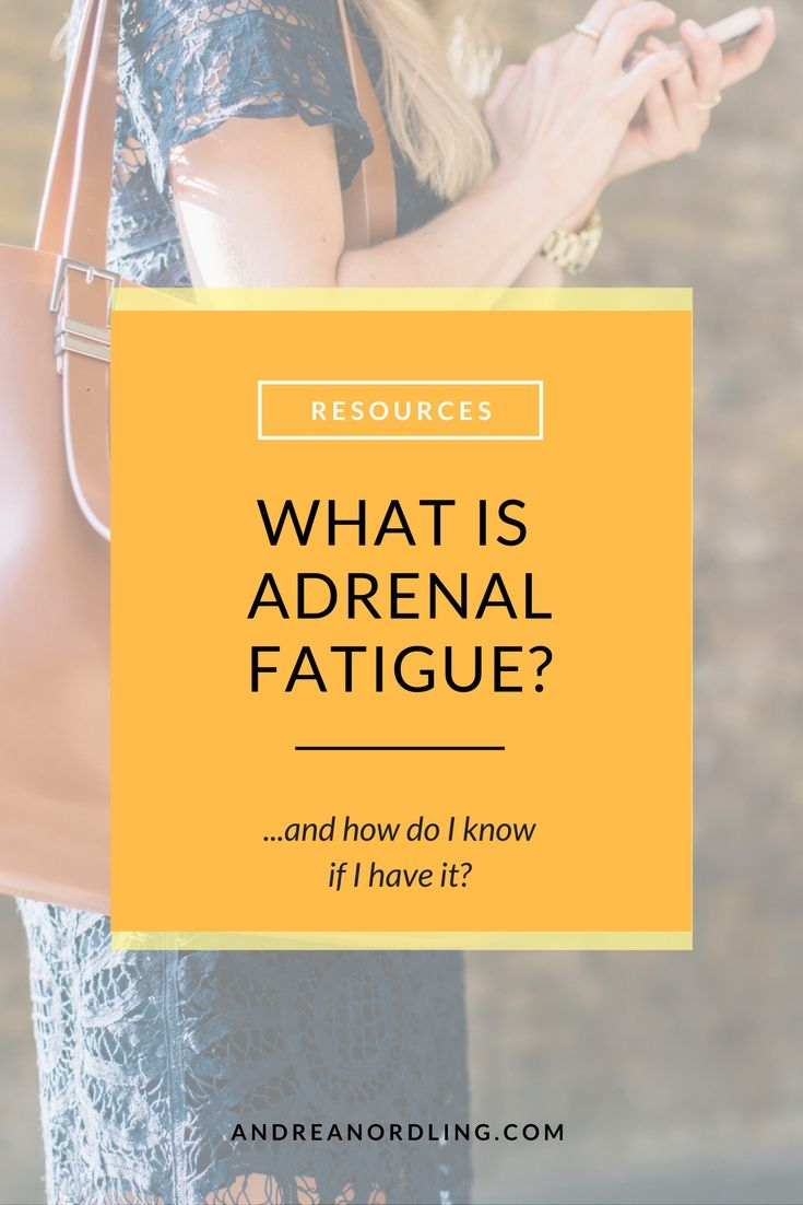 Adrenal fatigue is an umbrella term used to describe a group of symptoms caused by exhausted adrenal function. (Uhhh...what are adrenal glands?) Your adrenal glands are teeny weeny little bean-sized glands that sit on top of your kidneys, and they are responsible for a whole lot of things.  (Serious