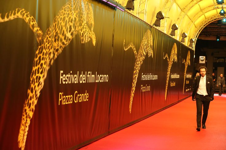 Our artistic director, Carlo Chatrian, is getting ready for an other night at #Locarno68