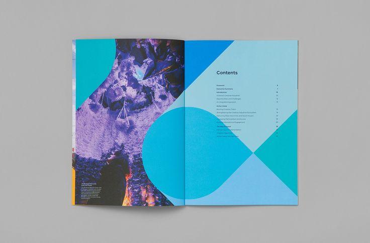 Creative Victoria by Studio Brave. #branding #print