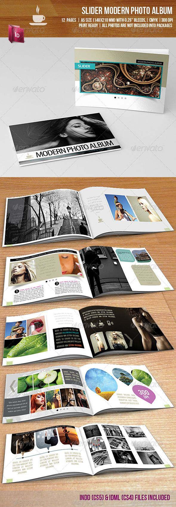 Photo Album Design Basics For Everyday Use - sleek layout design basics