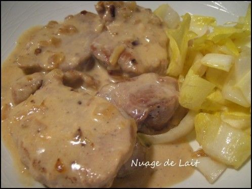 Filet Mignon au Maroilles (recette ProPoint Weight-Watchers) - NUAGE DE LAIT