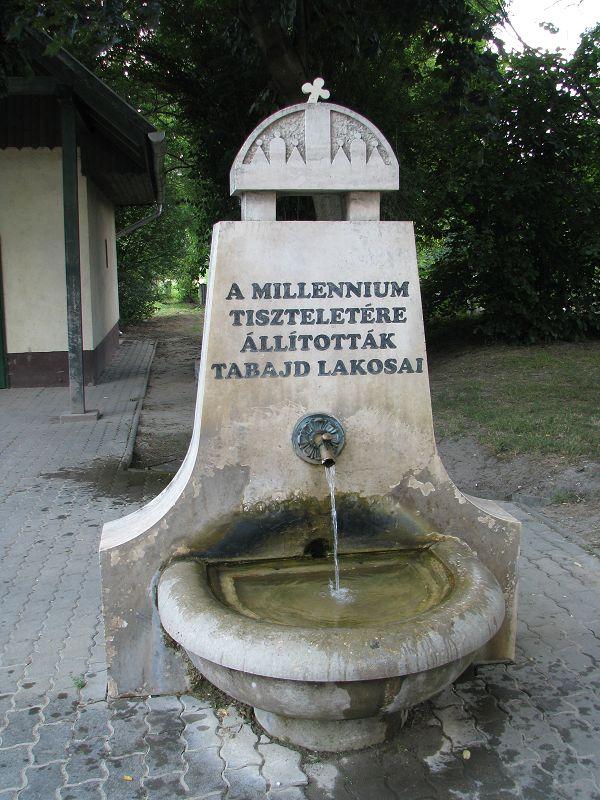 Millenniumi díszkút (Tabajd) http://www.turabazis.hu/latnivalok_ismerteto_5050 #latnivalo #tabajd #turabazis #hungary #magyarorszag #travel #tura #turista #kirandulas