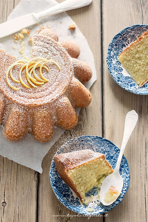 Fette di Torta al limone - Ricetta Torta al limone