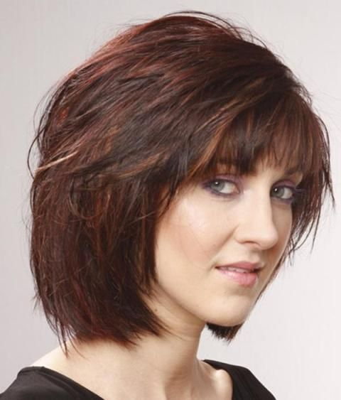 short layered womens haircuts 1000 ideas about hairstyles with bangs on 2734 | 170510975e1351c4c35b3783b479ffdb