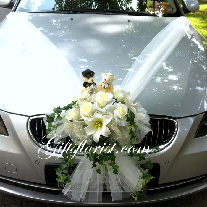 Wedding Car Decoration Photos Google Search