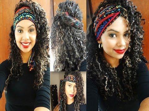 8 Penteados fáceis para cabelos cacheados - Por Suzane Camila - YouTube