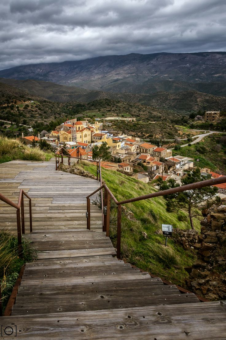 View from Volissos Castle | Chios Island, Greece. My family is from Chios- one day I want to go there.