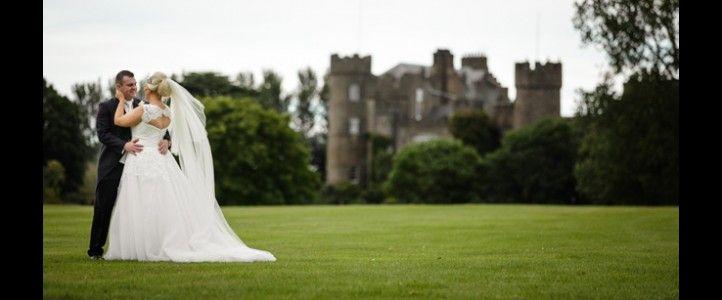 Wedding Bewleys hotel - Malahide castle in background