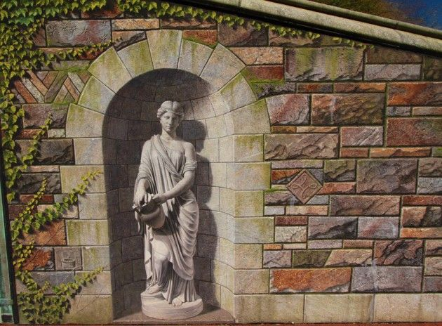74 best images about trompe l 39 oeil 3d murals on for Bridge mural frederick md