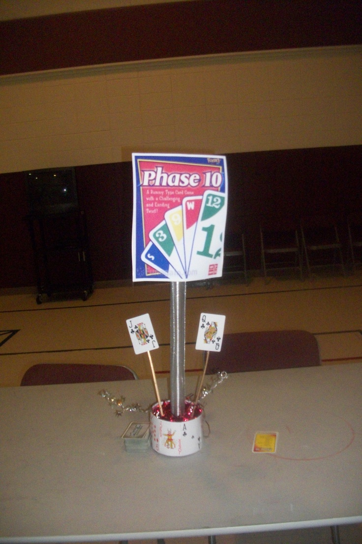 Images about game centerpieces on pinterest poker