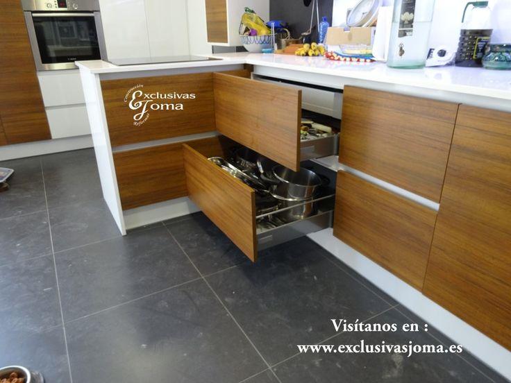 reforma de cocina integral de chalet en tres cantos muebles de cocina combinados en madera