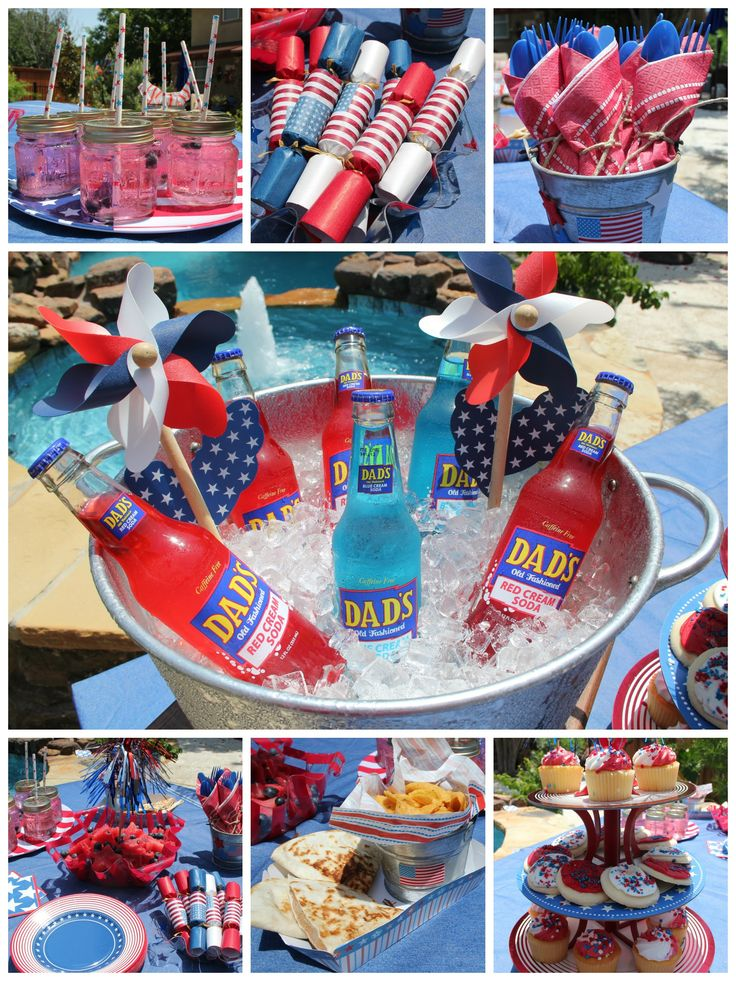 17 best images about happy 4th on pinterest chevron for 4th of july party decoration