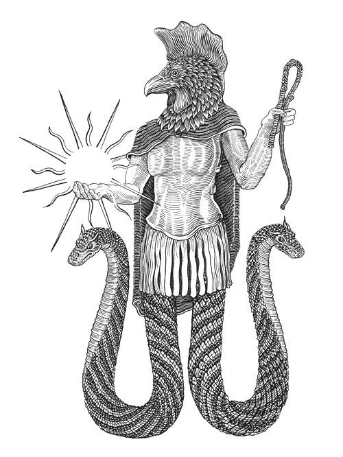 """Abraxas or Abrasax (Gnostic, from the Greek Αβραξας) From The Theosophical Glossary: """"Mystical term used by the Gnostics to indicate the supreme entity of our cosmic hierarchy or its manifestation in the human being which they called the Christos. Abraxas has the value of 365, based on numerical equivalents of the Greek alphabet. Because 365 represents the cycle of one revolution of our planet around the sun, they held that in Abraxas were mystically contained the full number of famili..."""