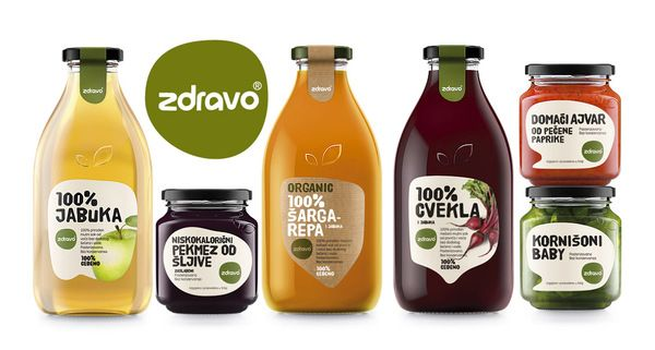 Zdravo Organic - Organic Food Redesign by Nemanja Jehlicka, via Behance