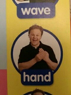 Hand - Makaton / Sign / Mr Tumble / Something Special