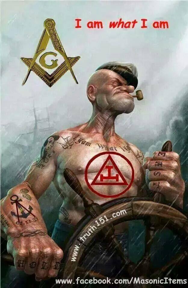 Popeye the Freemason