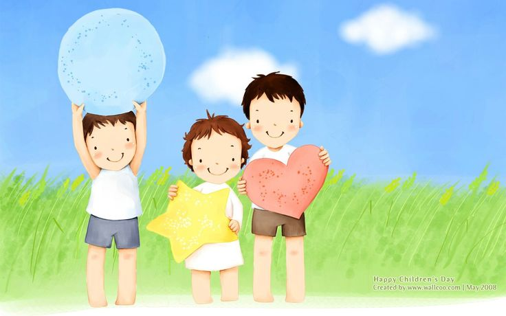 Lovely Illustration Daughter Wallcoo Children Illustraion Cartoon