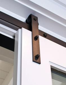 TL Antique Design Single Door Kit Sliding Barn Door Hardware