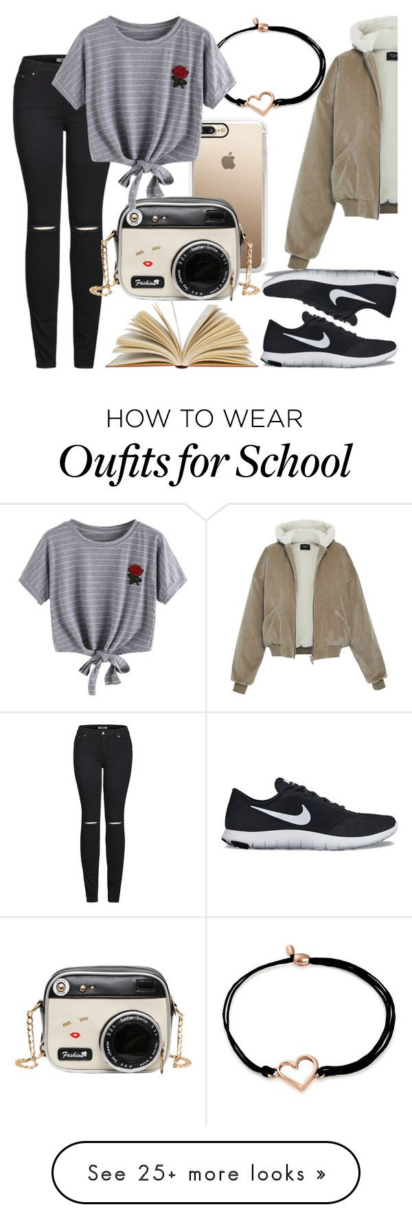 """Coffee Date!"" by qwertyuiop-sparta on Polyvore featuring Casetify, 2LUV, Alex and Ani, WithChic and NIKE"