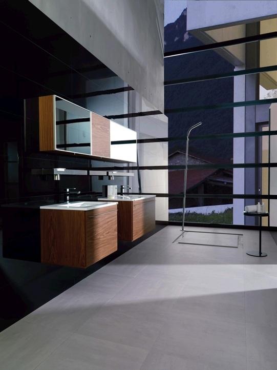 Venis 'Crystal Dark' Tile | Flawless Mirror Finish | Ceramo