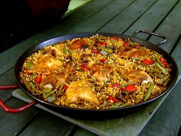 Alton Brown Paella Recipe from Food Network