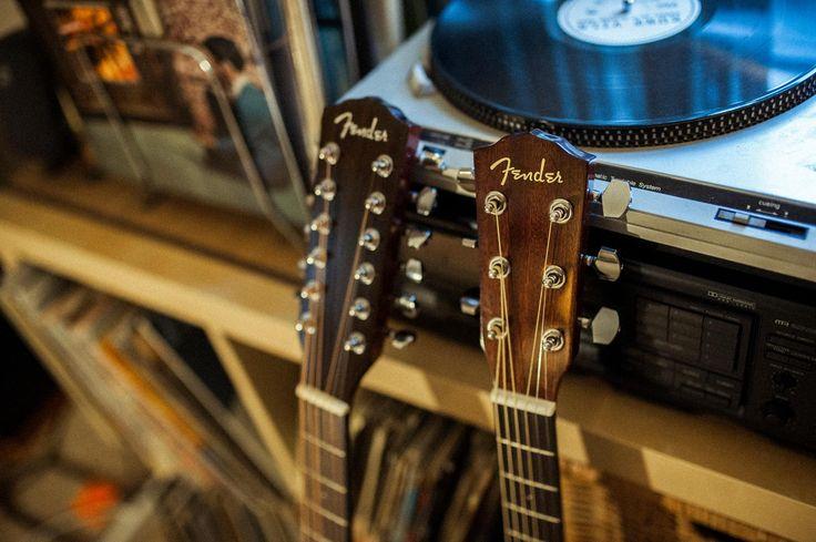 Create Your Own Soundtrack. #FenderClassicDesign       #Music #Guitar #Fender #Acoustic #AcousticGuitar #Guitars #Acoustics #Vinyl #Records #Collection #Turntable #DJ #Listen #Musician #Home #12String #Classic #Guitarist