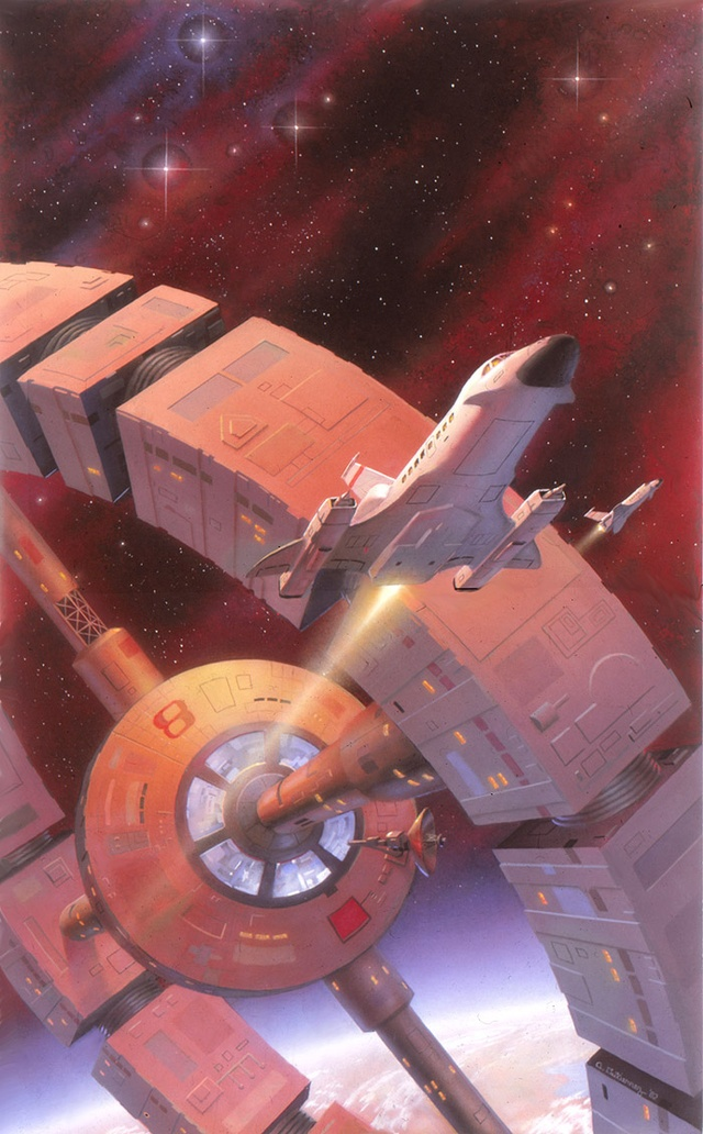 """Alan Gutierrez. """"Capturing the romance of space exploration"""" is how he defines his work, and that's a perfect description. Alan's work has been featured on the covers of magazines, books, games, and on display in galleries."""
