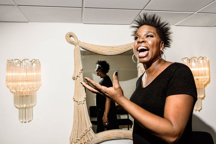 "#nomorolemodel Leslie Jones (1967-) is an American comedian and actress who is a cast member on Saturday Night Live and the star of 2016's all-female 'Ghostbusters' movie. From 'The New Yorker' - ""She has never been married and has no children; much of her act these days is about trying to find a man. ""I speak for the lonely bitches,"" she said. She was born in Memphis and raised in a churchgoing family. At one point, she told me, ""It's too bad I'm not gay, 'cause I'd get the flyest bitches."""