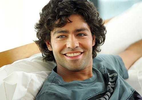 Adrian Grenier would make a great Christian Grey! Look at those eyes!