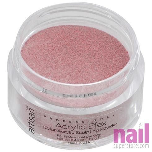 Artisan Colored Acrylic Nail Powder   Professional Size - Red Glitters