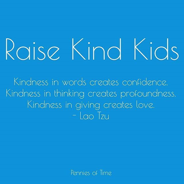 #Kindness isn't a weakness.  #raisekindkids #kindkids #compassion #confidence #problemsolvers #serveothers