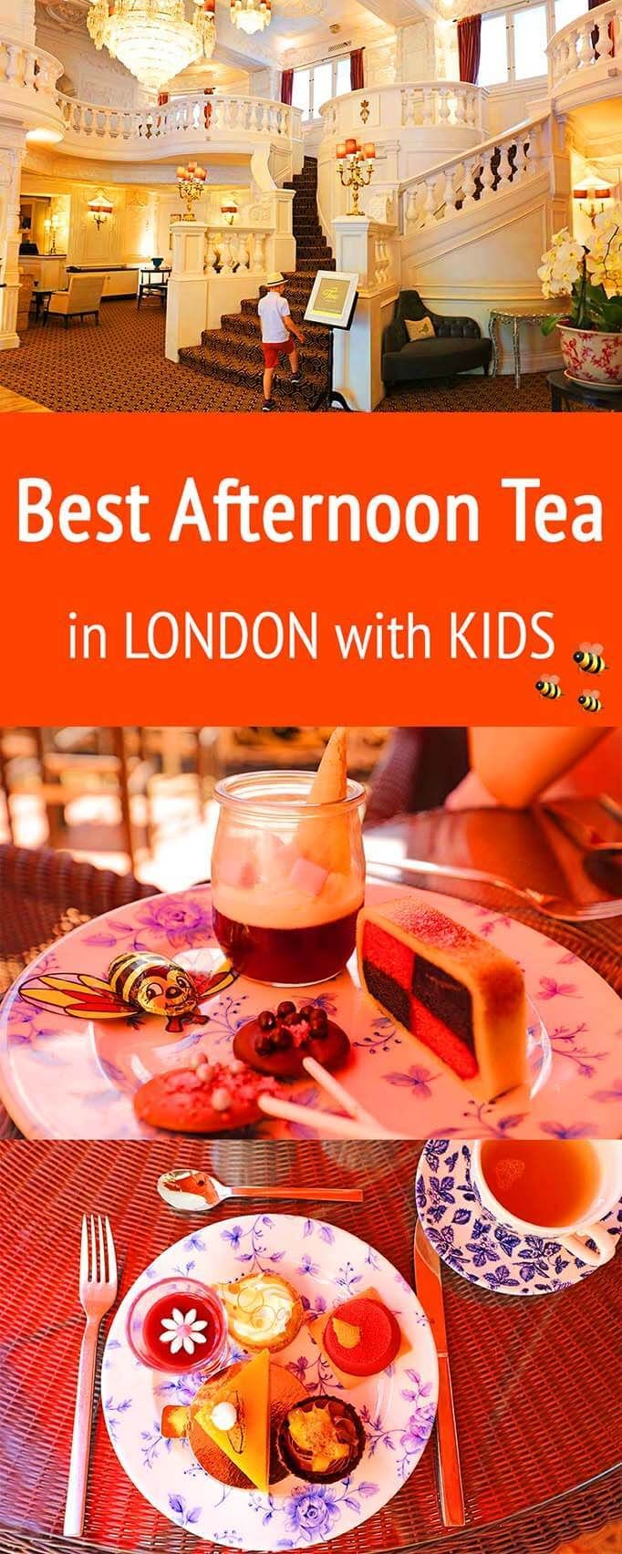 Where to find the best afternoon tea experience in London for families with kids