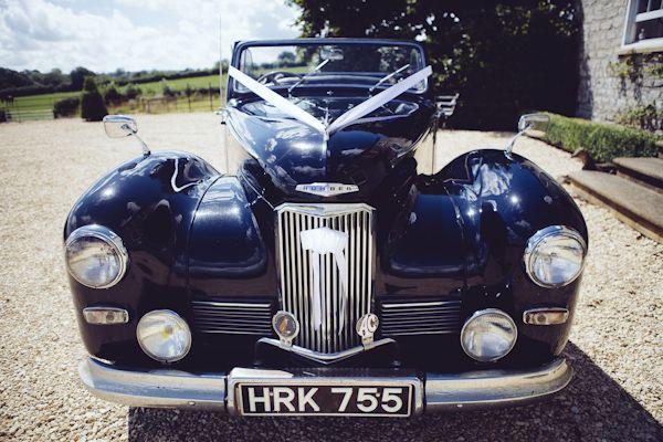 Vintage wedding wheels - Modern Orange Wedding http://www.annataylorphotography.co.uk