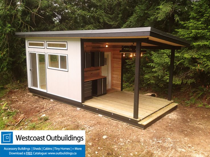 galiano island cabin the client wanted something simple modern yet a bit rustic and finding that balance was a real challenge - Garden Sheds Vancouver Island