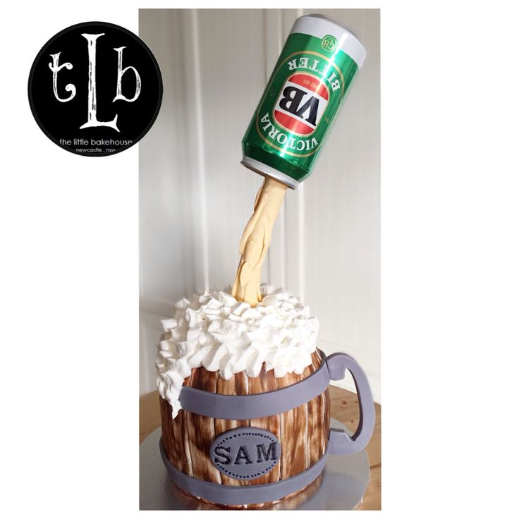 Gravity defying Beer Cake VB