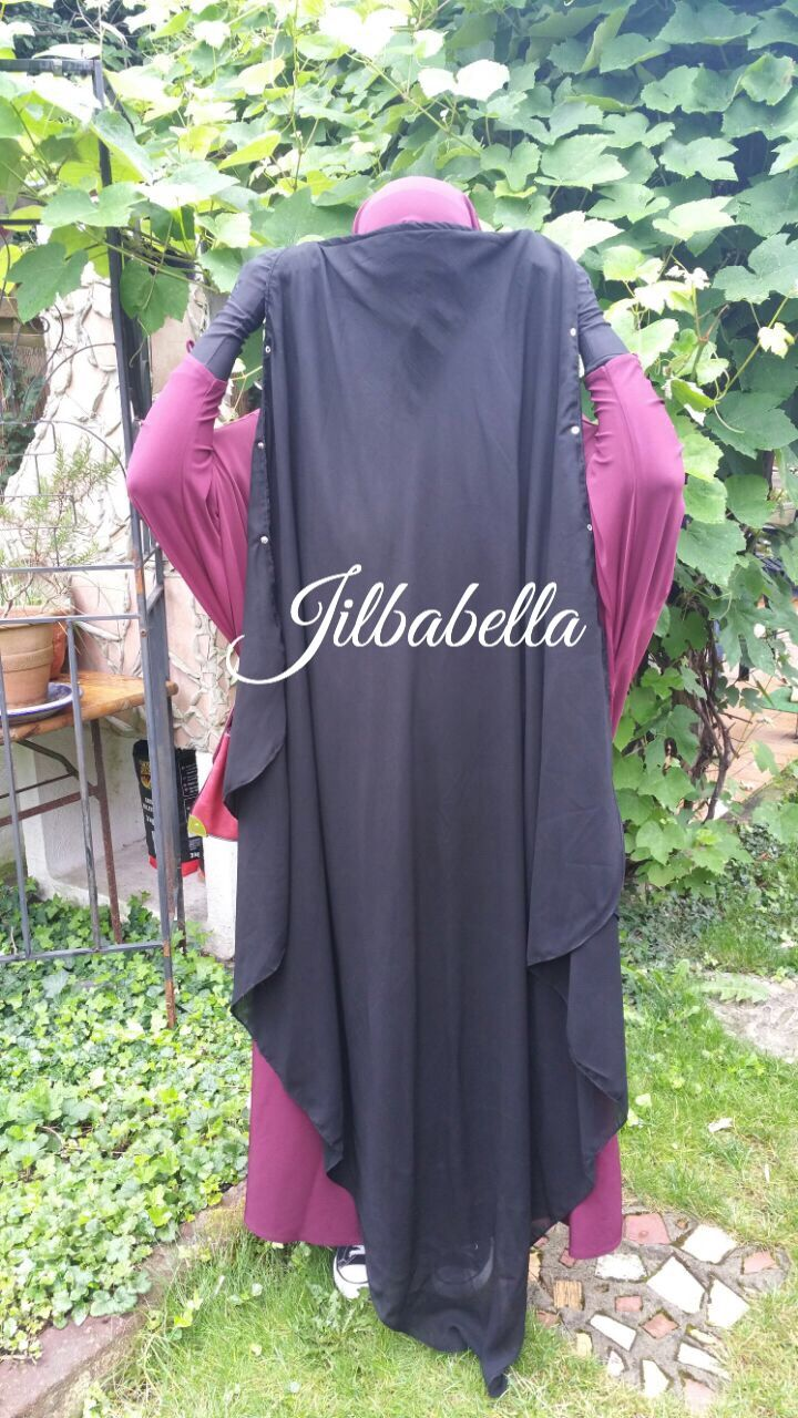 "Mein neues Niqab- Cape von ""Umm Hafsa"" – Jilbabella's Blog"