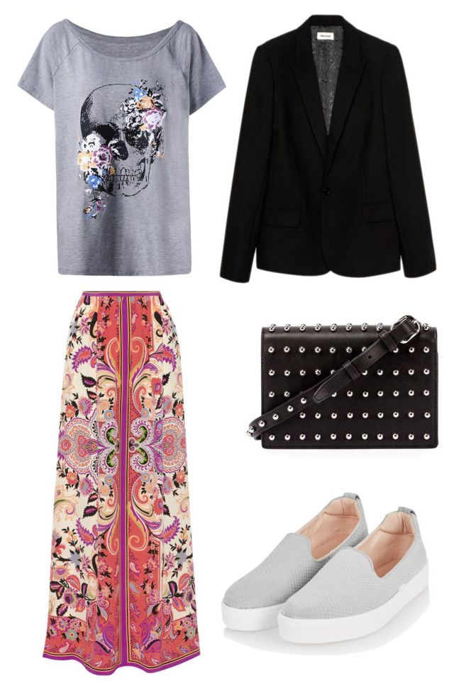 """Boho 5"" by sofya-2 on Polyvore featuring Etro, Topshop, Zadig & Voltaire and Alexander Wang"