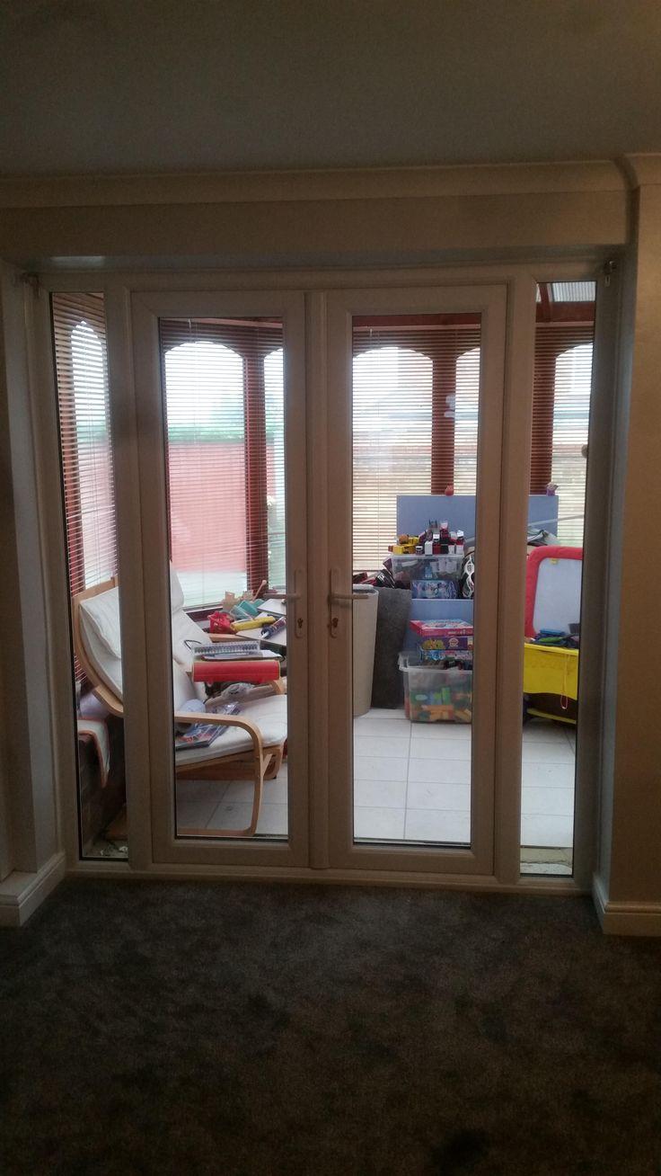 34 best french doors images on pinterest upvc french doors white french doors side panels rubansaba