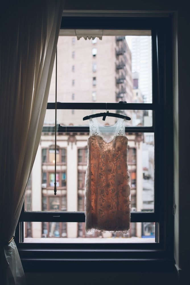 Real Wedding: NYC Elopement With a Katz's Deli Reception for Two | Apartment Therapy