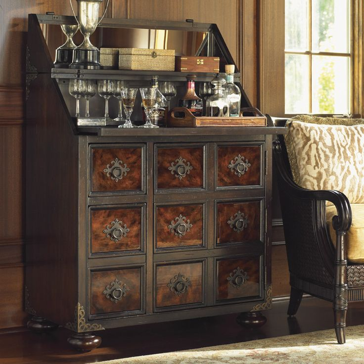 Island traditions churchill bar cabinet with wine storage for British traditions kitchen cabinets
