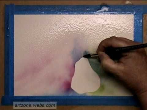 An introduction to the difference between positive and negative painting in watercolor, with demonstrations of both. Presented by Elizabeth Fluehr.
