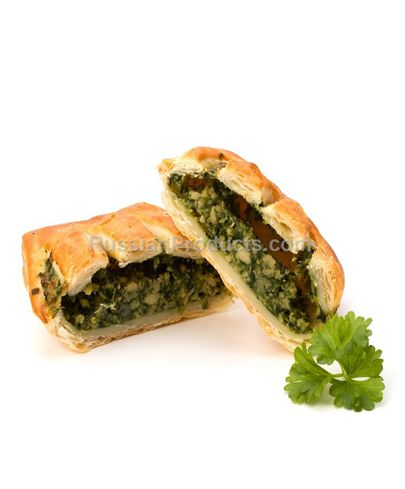 Puff Pies with Herbs.