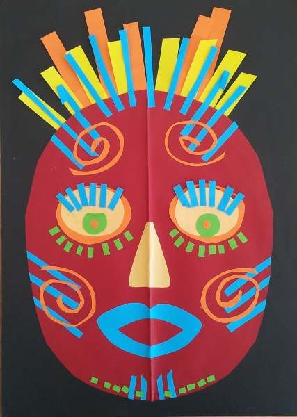 dreampainters (2011): Mask: Cut Paper.