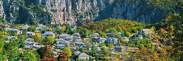 Zagorochoria, Epirus.  A symphony of stones and wood.
