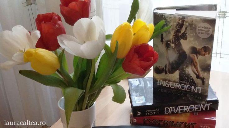 """Laura Caltea - Blogul unei cititoare de cursa lunga   Distopie și romance, despre seria """"Divergent"""", de Veronica Roth"""