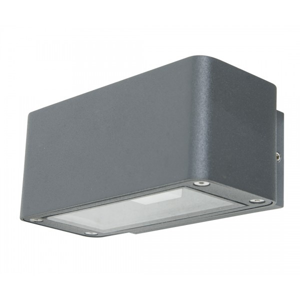 Ledlux Banff Up/Down Exterior Wall Bracket in Charcoal | Outdoor Lighting | Lighting